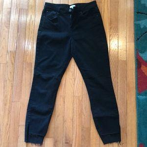 Black Tobi Skinny Jeans Mid-rise